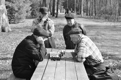 Jogo tradicional em Rússia Foto de Stock Royalty Free