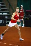 Jogo Ucrânia do tênis de FedCup contra Canadá Imagem de Stock