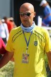 Jogo Ucrânia v Áustria do tênis de Davis Cup Imagem de Stock