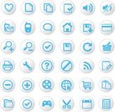 Jogo universal do ícone Imagens de Stock