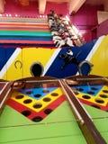 Jogo velho da corrida de cavalos do carnaval Imagens de Stock Royalty Free