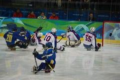 Jogos 2010 do inverno de Paralympic Fotografia de Stock Royalty Free