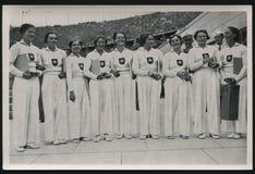 1936 jogos Alemanha dos Olympics de verão Foto de Stock