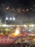 Jogos americanos 2007 da bandeja Fotografia de Stock Royalty Free