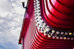 Jogos Arcade Theme Park Seaside de Scarborough fotografia de stock