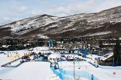 Jogos da montanha de Teva do inverno Fotos de Stock