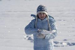 Jogos da neve Foto de Stock Royalty Free