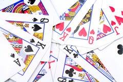 Jogos de cartão Imagem de Stock Royalty Free