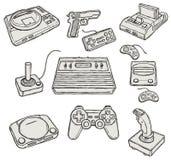 Jogos de computador Fotografia de Stock Royalty Free