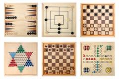 Jogos de mesa Fotografia de Stock