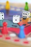 Jogos de mesa para miúdos Fotos de Stock