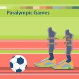 Jogos de Paralympic do verão Fotos de Stock Royalty Free