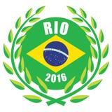 Jogos 2016 de Rio Olympic Imagens de Stock Royalty Free