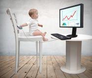 Jogos 4 do bebê Imagem de Stock Royalty Free