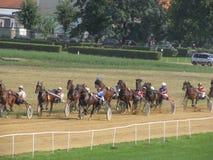 Jogos do cavaleiro de Ljubicevo Fotos de Stock Royalty Free