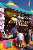 Jogos na feira ou no carnaval Foto de Stock