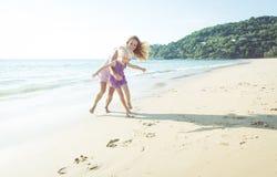 Jogos na praia foto de stock