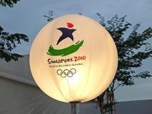 Jogos Olímpicos 2010 da juventude Fotografia de Stock
