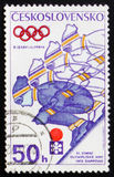 Jogos Olímpicos do inverno 1972, cerca de 1972 Fotos de Stock Royalty Free
