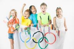 Jogos Olímpicos Rio de janeiro Brasil 2016 Fotografia de Stock
