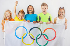 Jogos Olímpicos Rio de janeiro Brasil 2016 Imagem de Stock Royalty Free