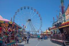Jogos, passeios e uma casa assustador no fá de San Diego Fotos de Stock Royalty Free