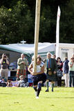 Jogos scotland das montanhas Fotografia de Stock