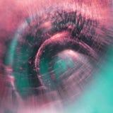 Jogos subaquáticos abstratos com bolhas, bolas da geleia Imagens de Stock