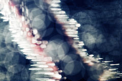 Jogos subaquáticos abstratos com bolhas e luz Fotos de Stock Royalty Free