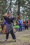Jogos tradicionais exteriores Fotos de Stock Royalty Free