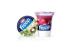 Jogurt Obrazy Royalty Free