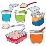 jogurt ilustracja wektor
