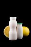 jogurt grejpfruta Zdjęcie Stock