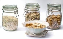 Jogurt und Getreide Lizenzfreies Stockbild