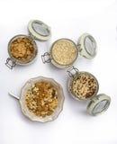 Jogurt und Getreide Lizenzfreies Stockfoto