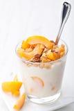 Jogurt z muesli zdjęcie royalty free
