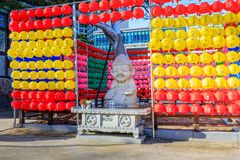 Free Jogyesa Temple, In Preparation For The Birthday Of Buddha, Located In Jongno-gu, Seoul. Royalty Free Stock Photo - 112340695