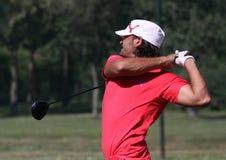 Johan Edfors bij golf het Frans opent 2010 Stock Afbeeldingen