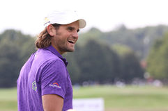 Johan Edfors, Vivendi golf cup, sept 2010 Royalty Free Stock Photography