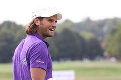 Johan Edfors, Vivendi Golfcup, Sept. 2010 Lizenzfreie Stockfotografie