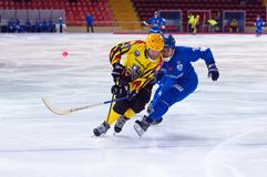 Johan Estblom (4) in action Royalty Free Stock Images