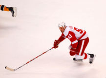 Johan Franzen Detroit Red Wings Stockbild