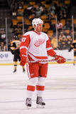 Johan Franzen Detroit Red Wings Fotos de archivo