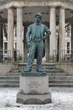 Johan Halvorsen statue in Oslo, Norway stock photo