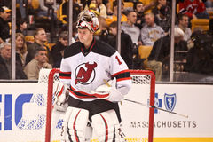 Johan Hedberg New Jersey Devils goalie Stock Images