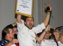 Johan Malm-2010 winner the Oyster Championship Stock Images