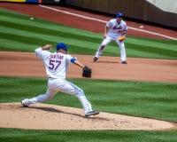 Johan Santana van NY Mets Royalty-vrije Stock Fotografie