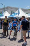 Johan Van Summeren 2013 Amgen Tour of CA Royalty Free Stock Photo