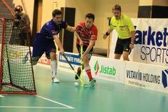 Johan Von der Pahlen - floorball Stock Image