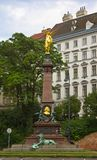 Johann Andreas Von Liebenberg Statue Lizenzfreie Stockfotos